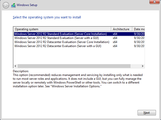 windows server 2012 trial iso
