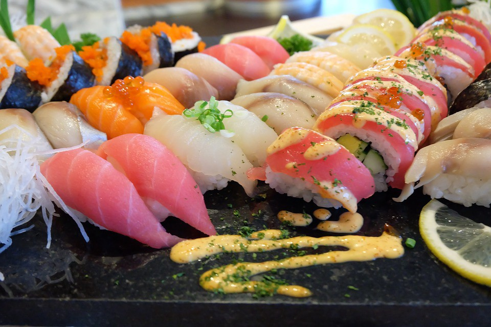 Image result for Japanese sushi