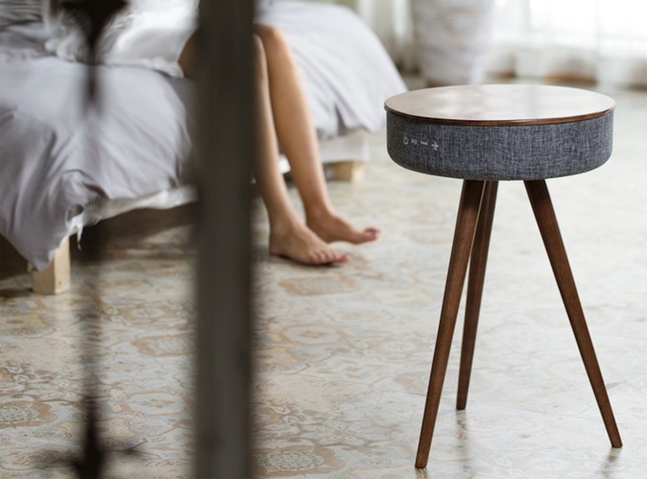 smart furniture design. Coming In A Side Table Design, This Does So Much More Than Hold Your Drink. Concealed Inside The Minimalist Exterior Is Load Of Advanced Technology. Smart Furniture Design F