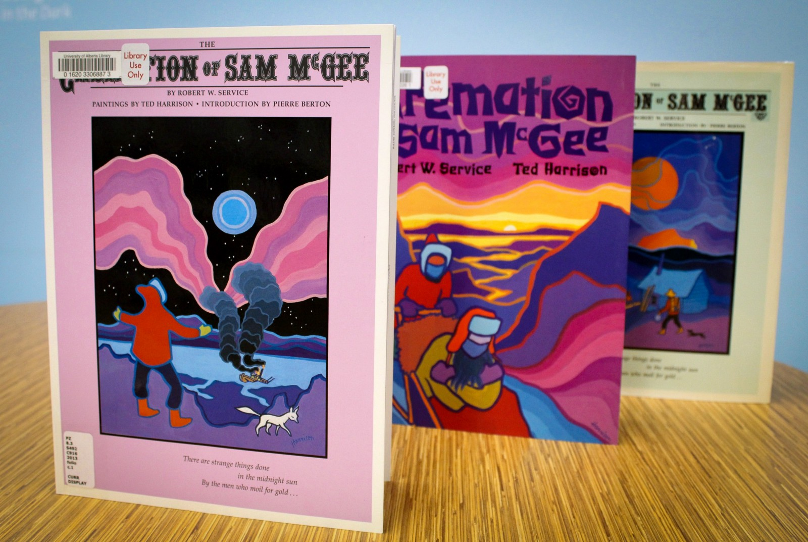 The Cremation Of Sam Mcgee, By Robert Service And Ted Harrison Published  By Kids Can Press