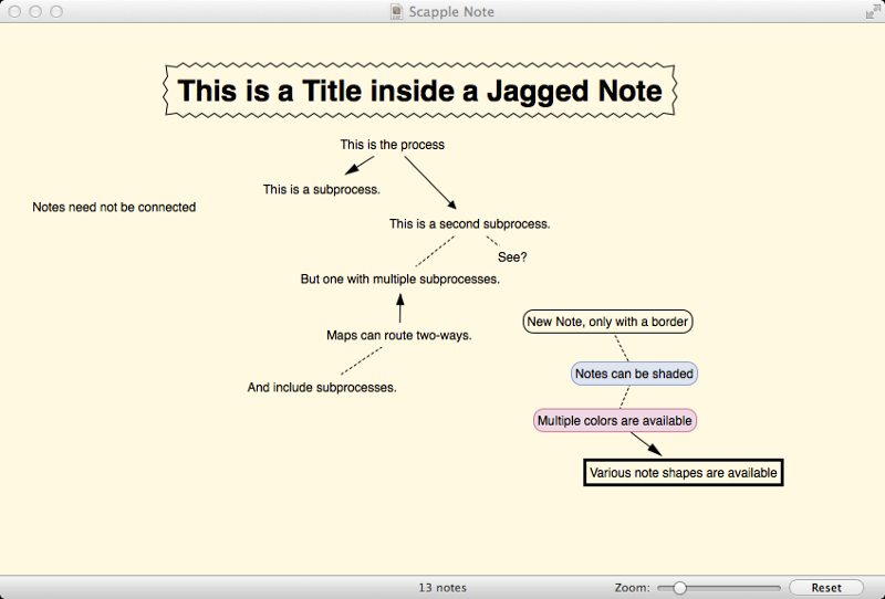 Organize Your Writing With Scapple