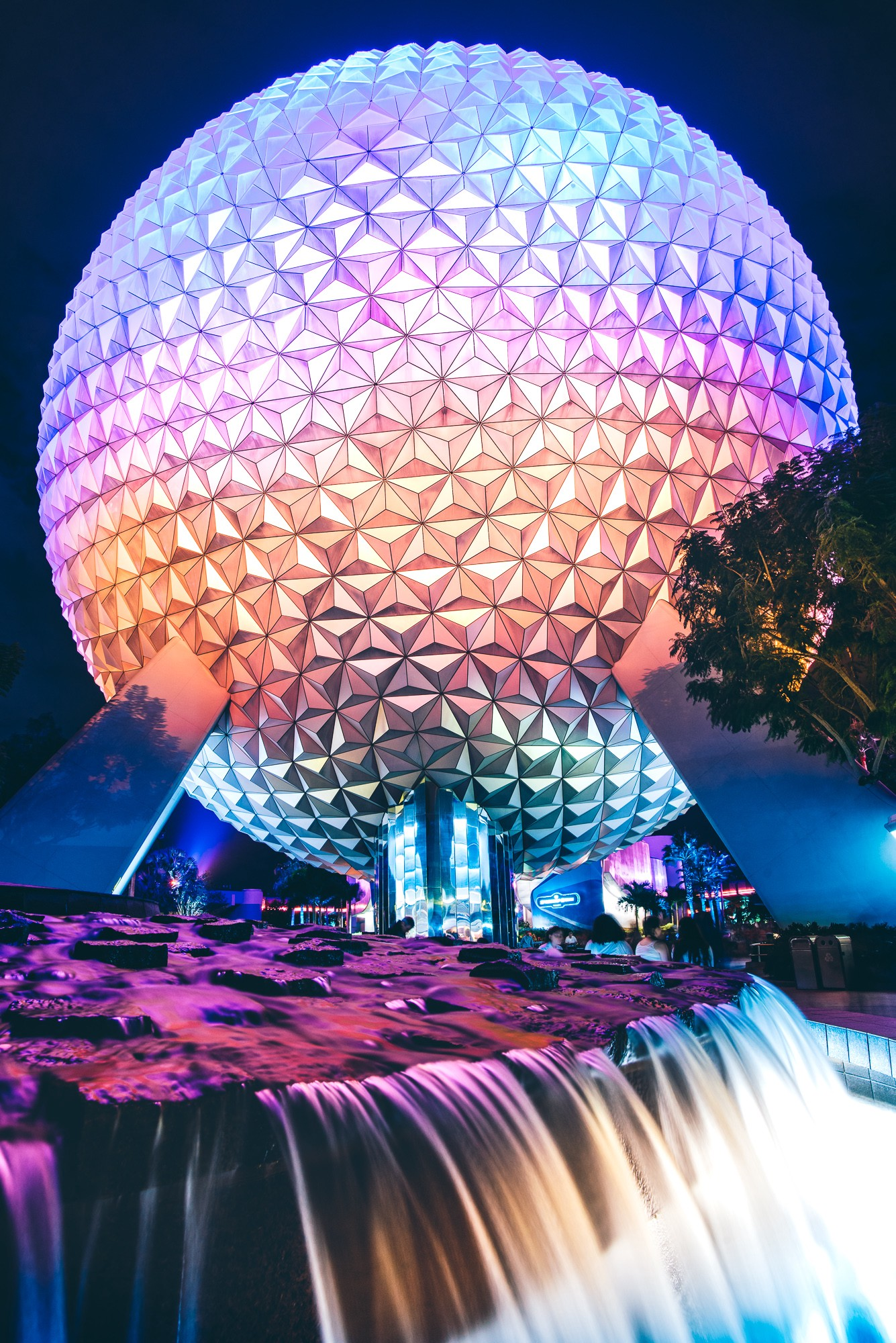 epcot from the outside looking in madness kingdom