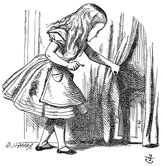 Sir John Tenniel\'s Classic Illustrations of Alice\'s Adventures in ...