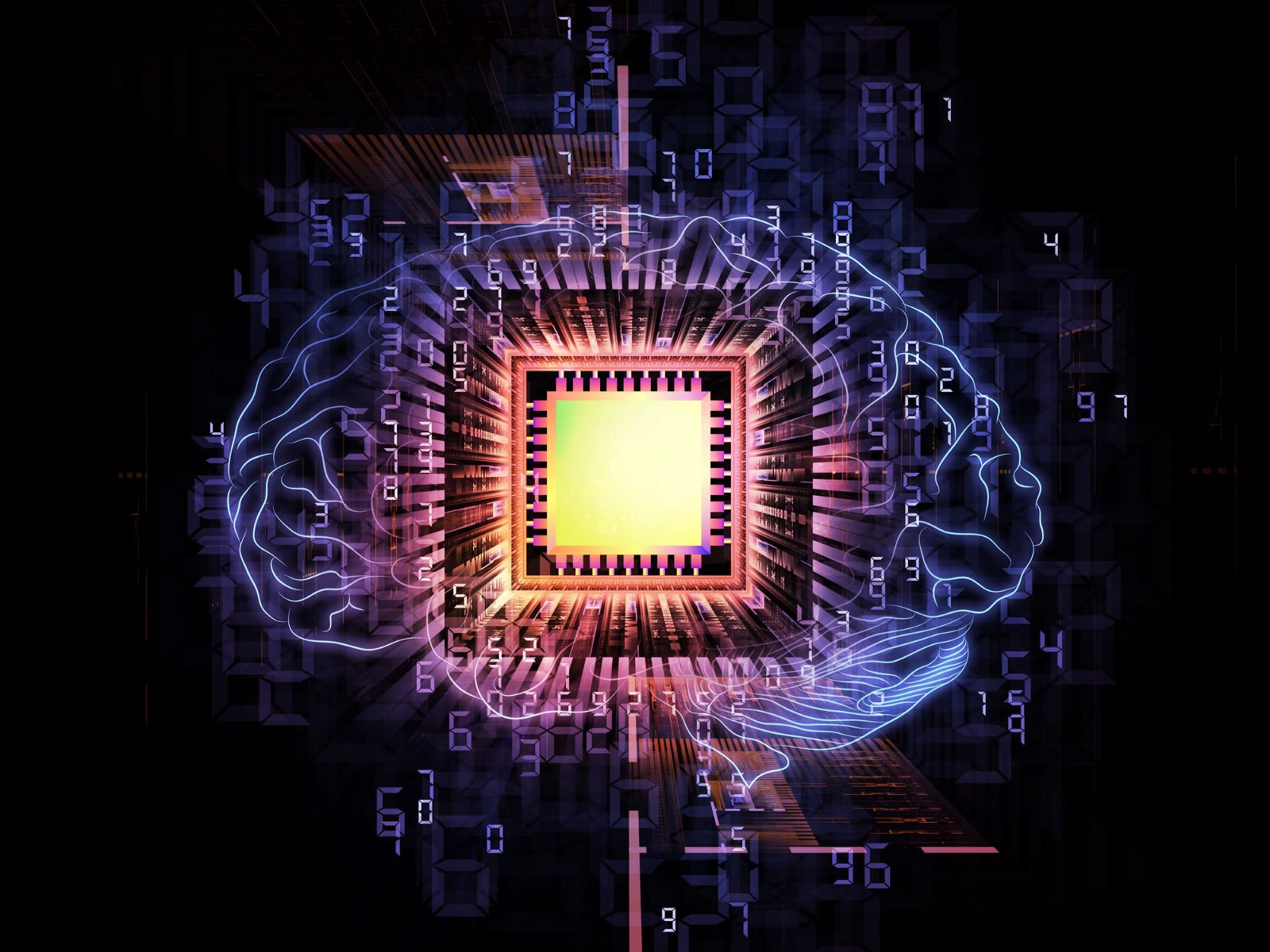 Can we build artificial brain networks using nanoscale magnets?