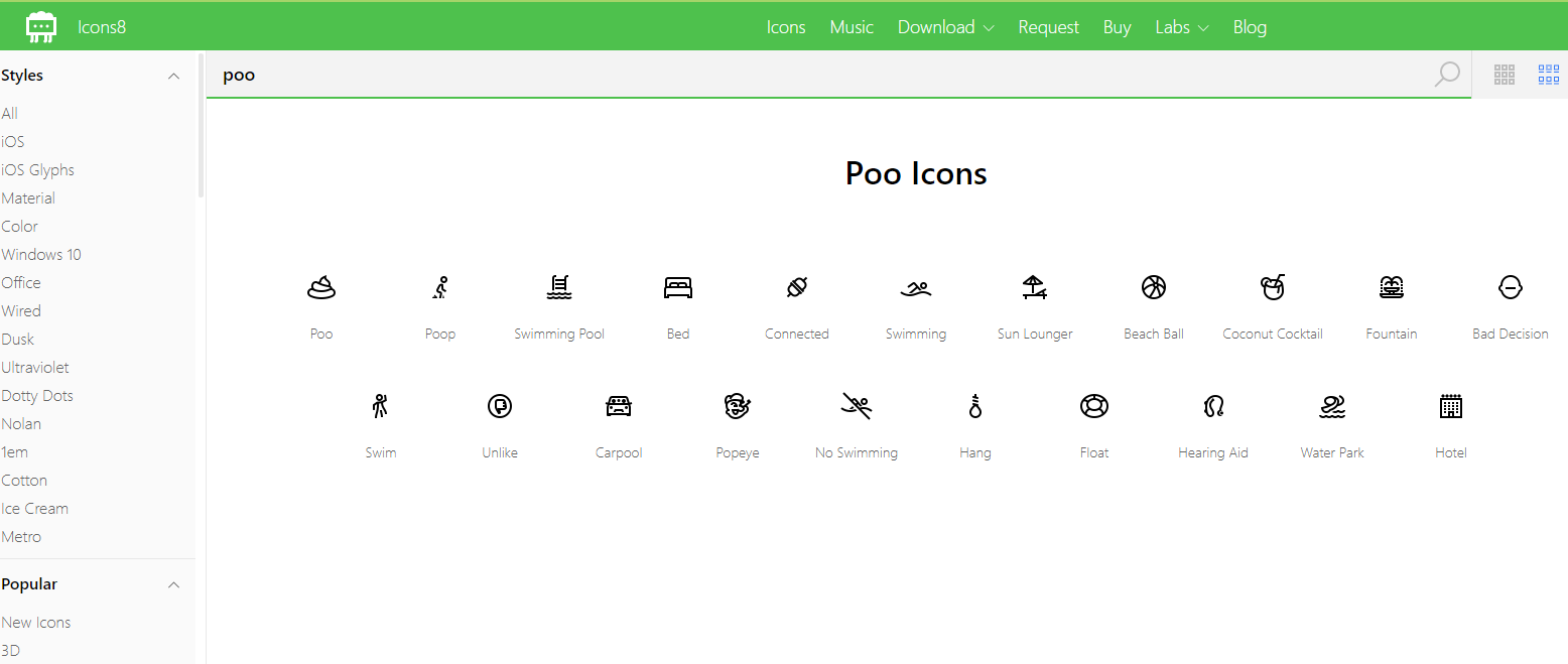 How to download vector icons in Icons8 free – Philippe Balquet – Medium