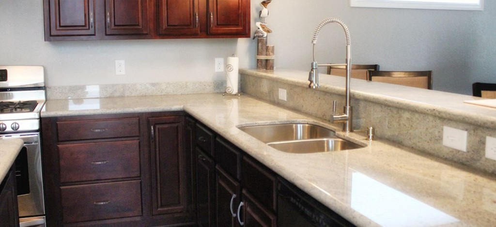 Granite Kitchen Countertops Protect From Stains: Countertops For Home  Kitchen Made From Granite Also Show A High Resistance To Stains And Do Not  Absorb ...