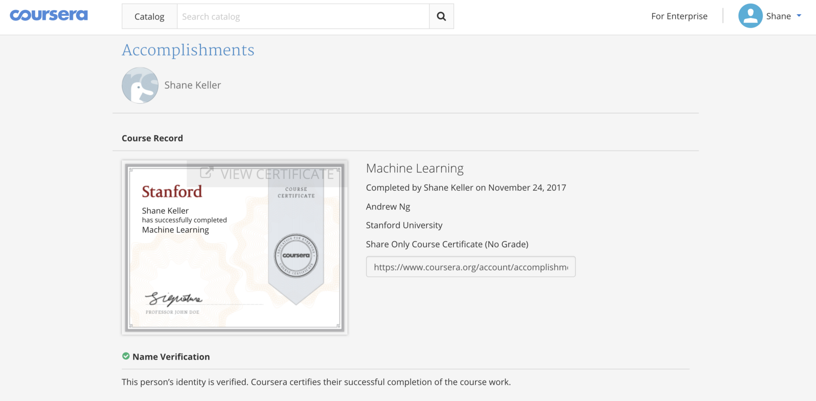 a review of courseras intro to machine learning course