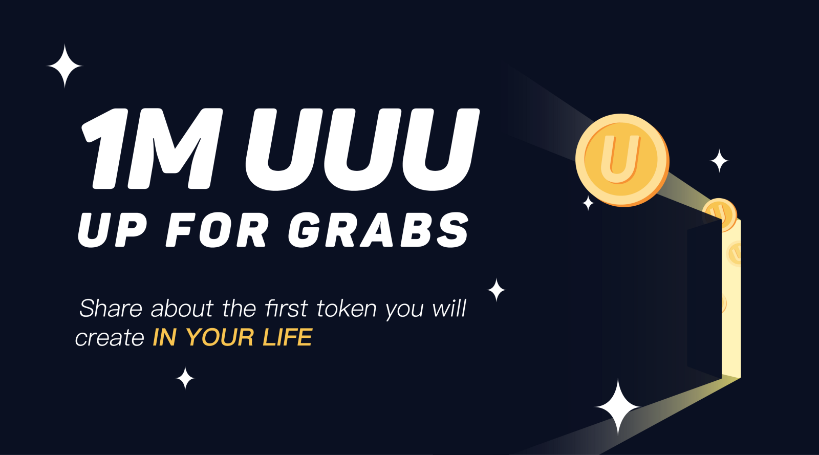 U 2018 Uuu >> 1m Uuu Up For Grabs Share About The First Token You Will Create In