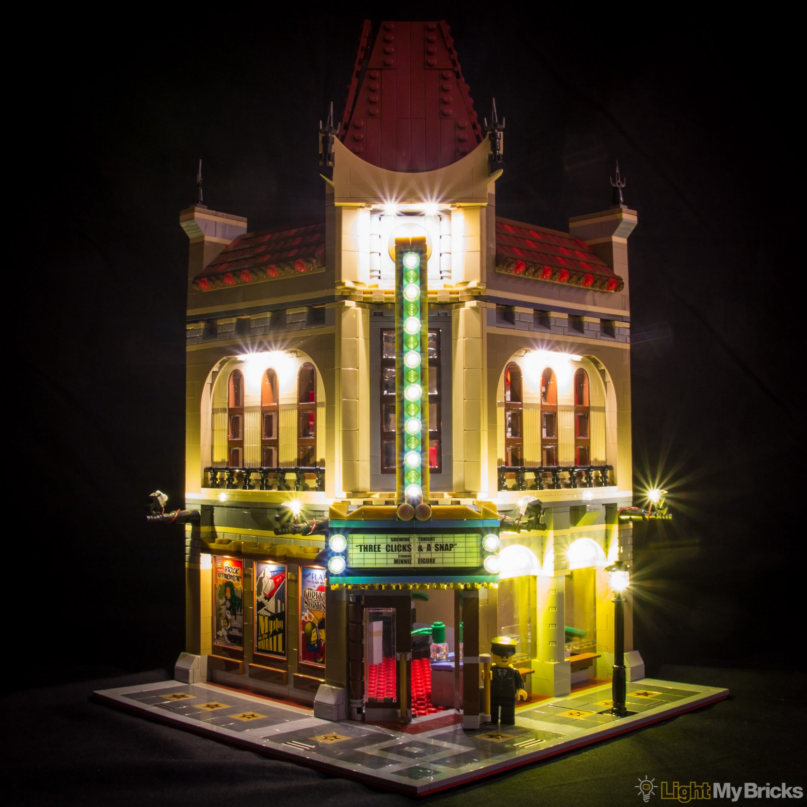lego lighting. Light My Bricks : Palace Cinema LED Lighting Kit Lego