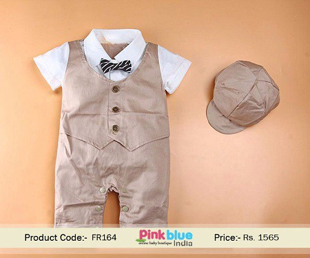 This 3 Pieces Toddler Partywear Suit For Your 2na Birthday Boy Will Look Fantastic On Their Special Day