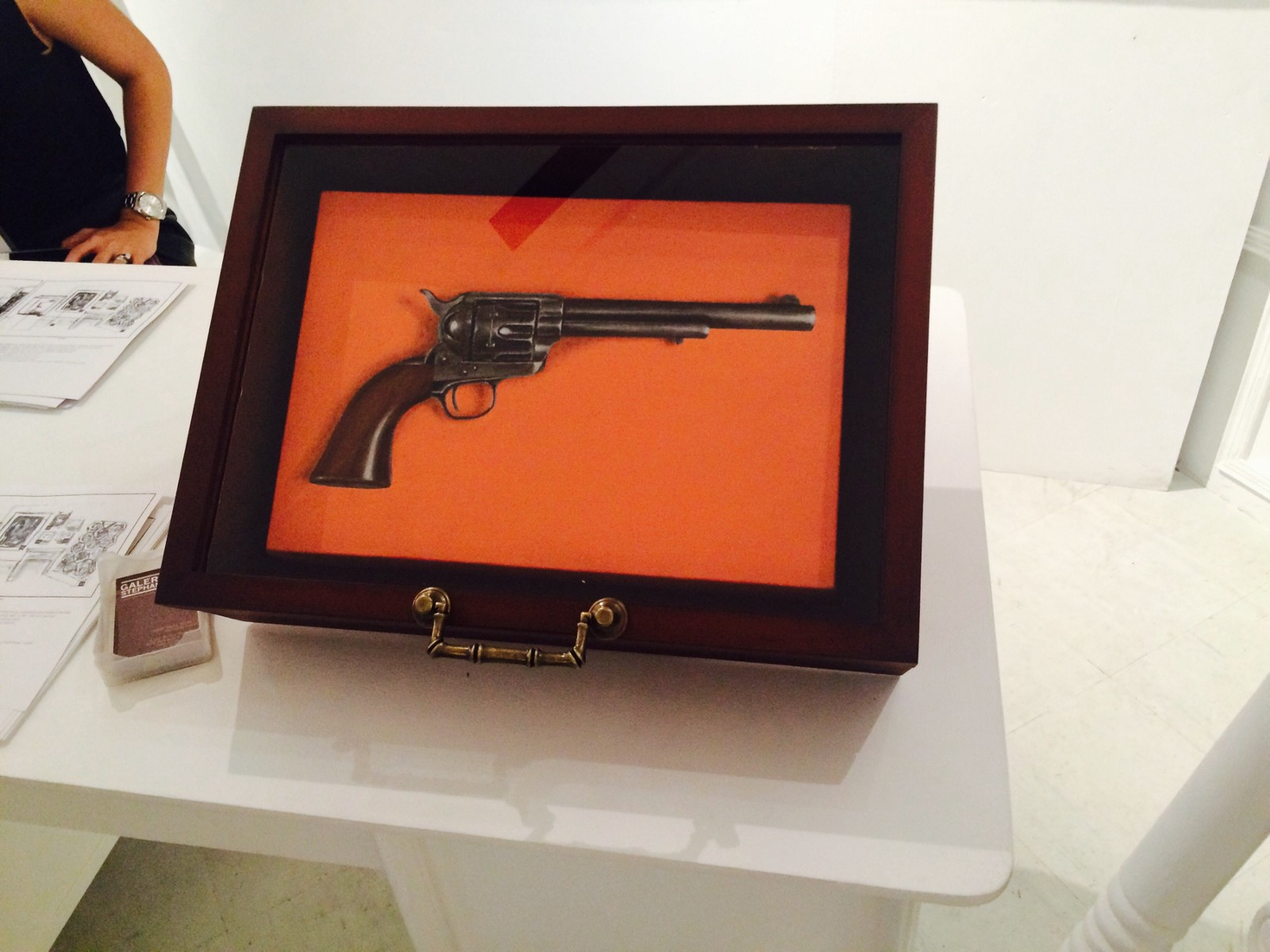 Art fair philippines 2016 an experience christian angelo medium this artwork caught my eye because the artist was supposed to make us think that this gun was a real 3 d model and it was able to trick me biocorpaavc Gallery