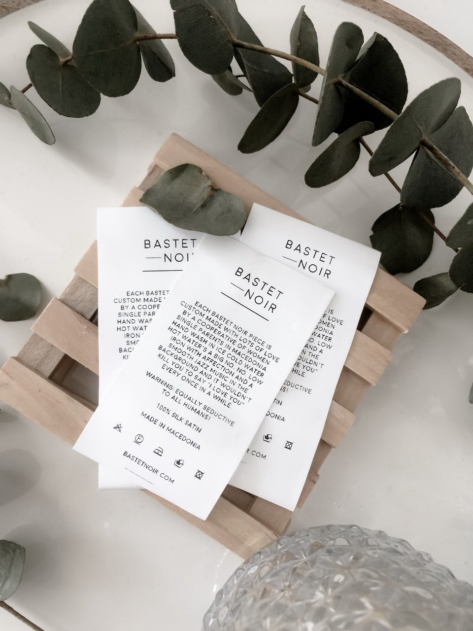 Care labels by Bastet Noir