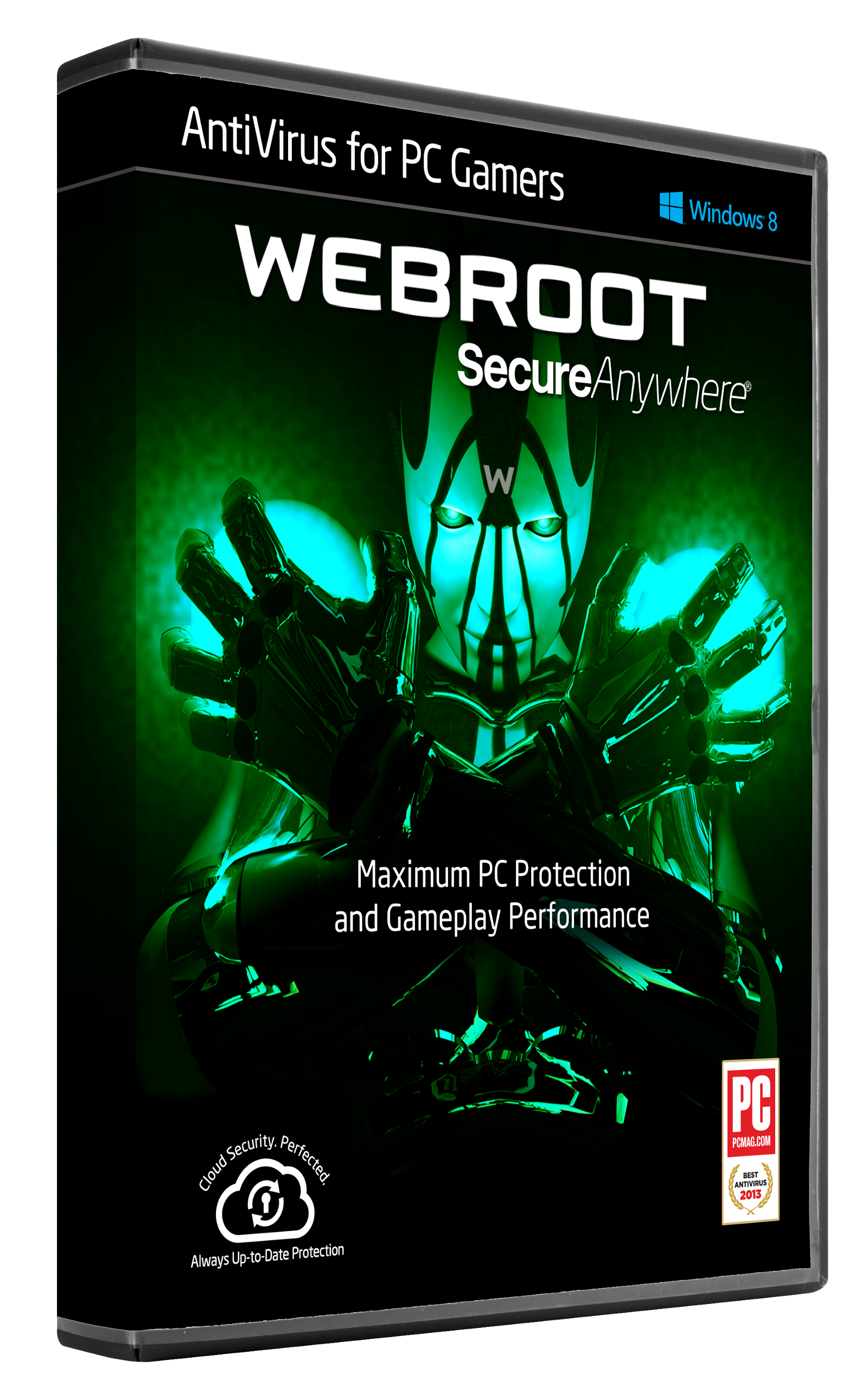 Webroot antivirus protection and internet security for pc gamers.