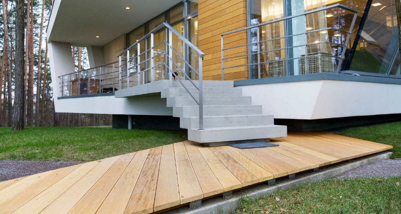 what is the maximum riser height for stairs leading to an open sun