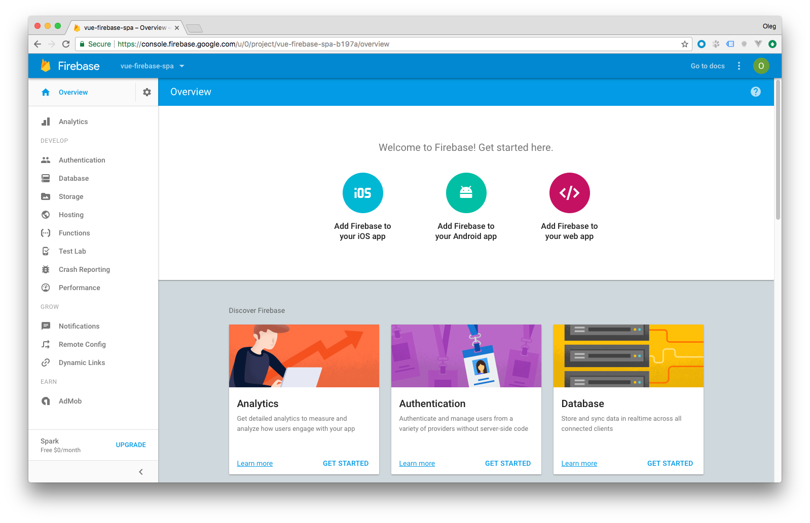 Basic Single Page application using Vue.js and Firebase—Part 2