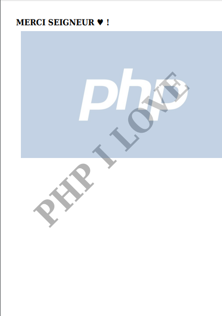 HOW TO GENERATE A PDF FILE WITH A PHP PASSWORD ? – Yves Martial Boah