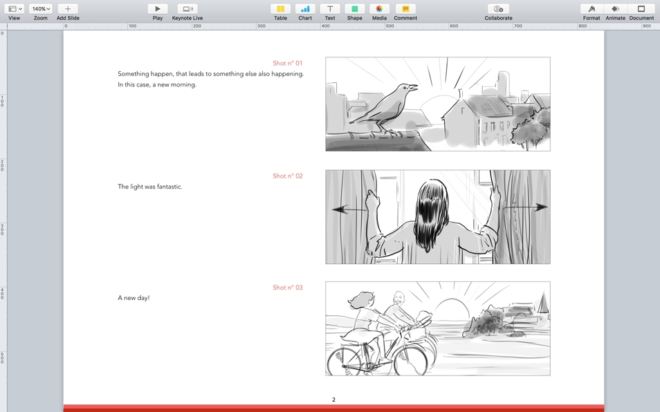 Apple Keynotes Themes For Storyboards Presentations