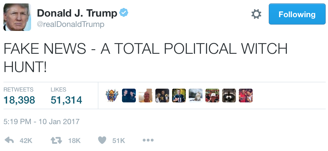 News Twitter: Did BuzzFeed Publish Donald Trump Fanfiction As Real News?