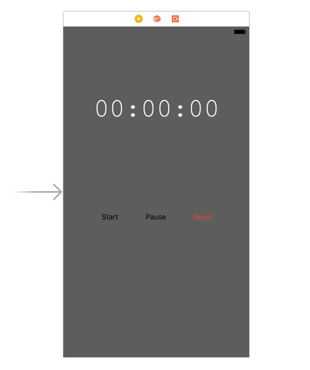 This Label Will Show The Starting Time And The Counting Down In Seconds Minutes And Hours Add Three Buttons Start Pause Reset