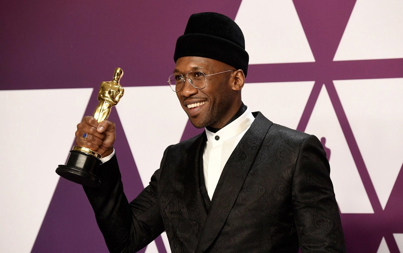 de080c197fd GREEN BOOK s Mahershala Ali in the Oscars press room after winning Best  Supporting Actor