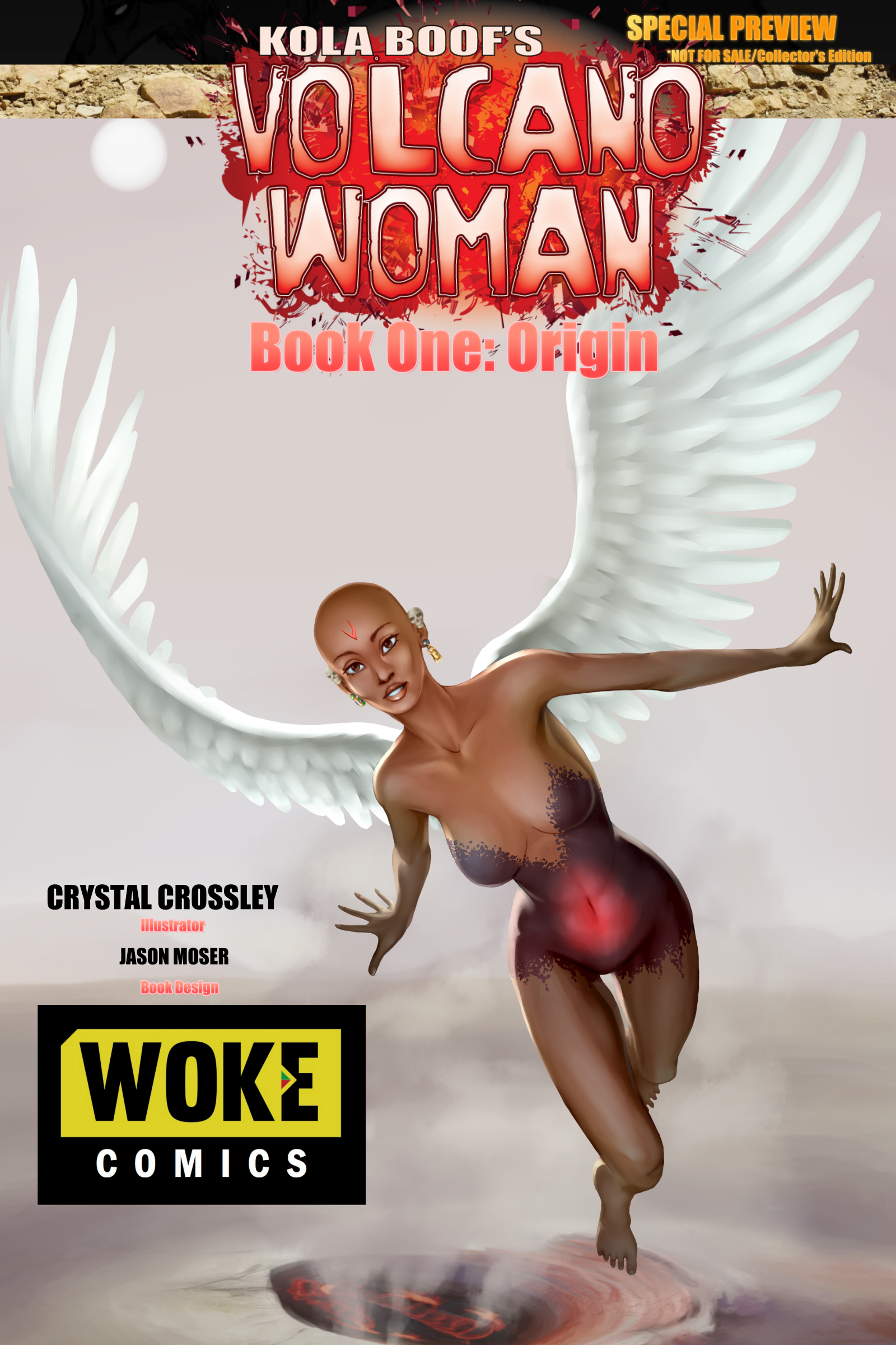 Volcanic Justice An Interview With Kola Boof Creator Of Volcano Woman