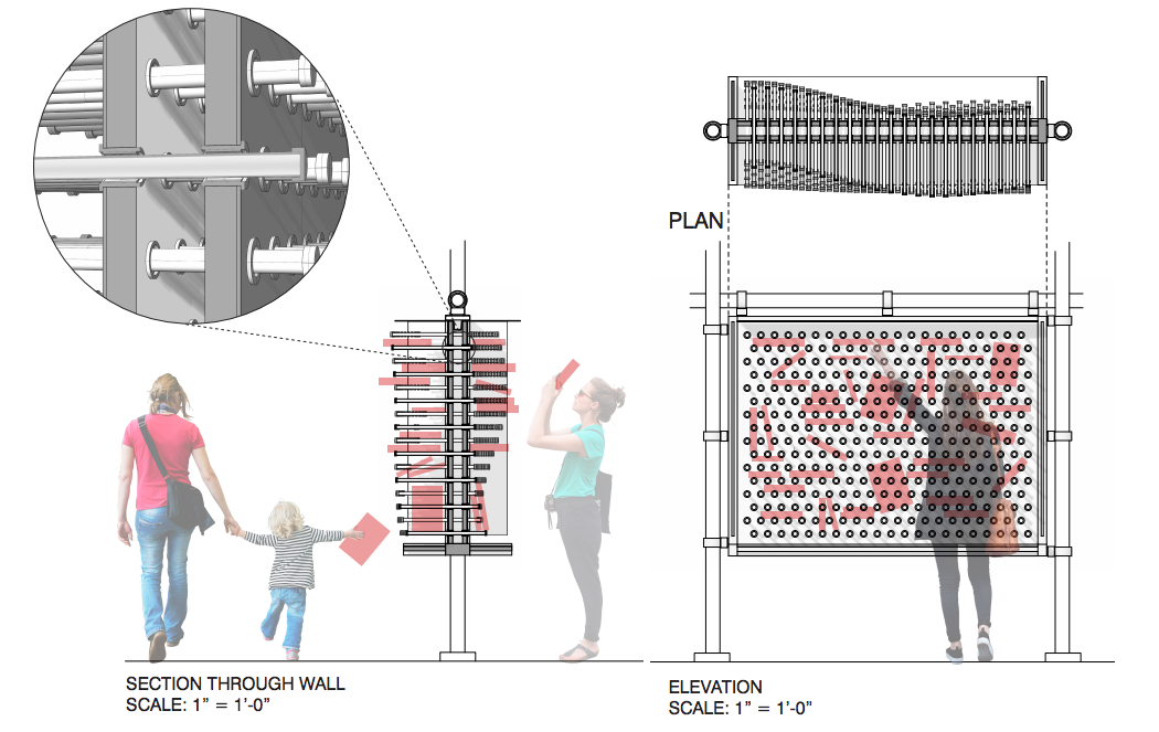 The winners of the little free library design competition the liminal wall is not just a little free public library it is also a social mechanism for public engagement stationed under the construction ccuart Gallery