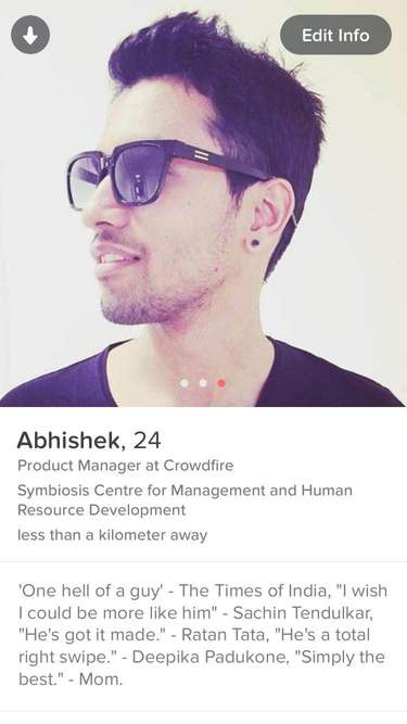 simple tinder bios