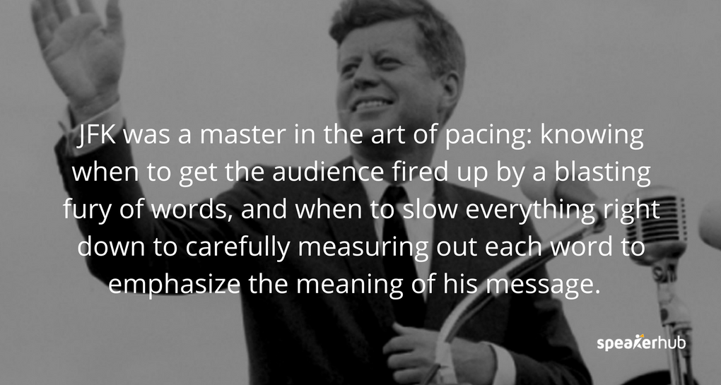 why is jfks inaugural speech important