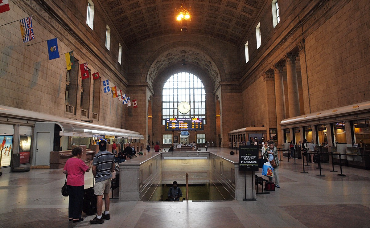 Remember when Toronto's Union Station renovation was ...