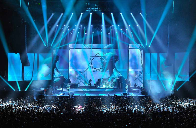 How tool invented the modern live stage and lighting design