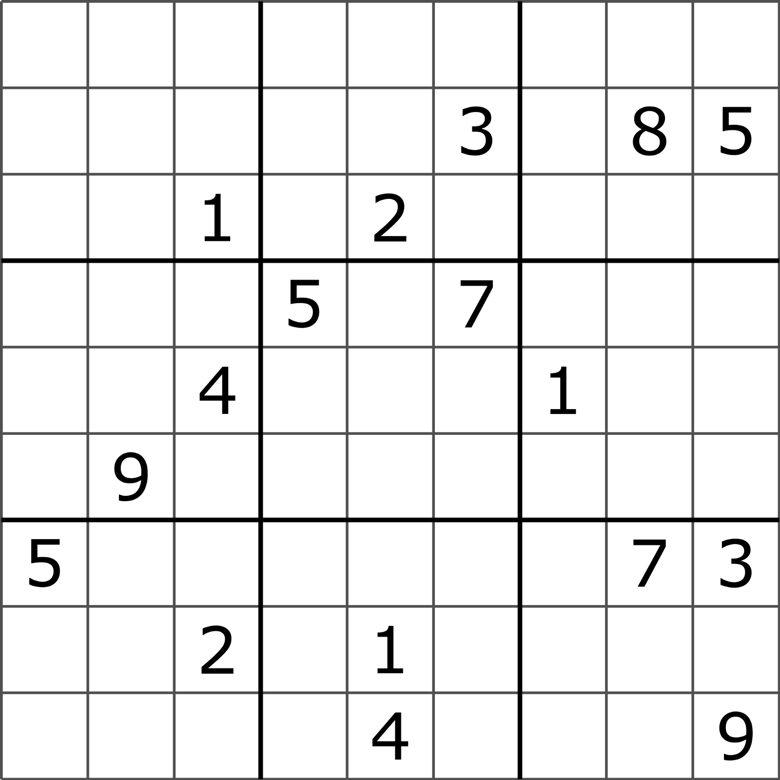Solving Sudoku Using A Simple Search Algorithm George Seif Medium