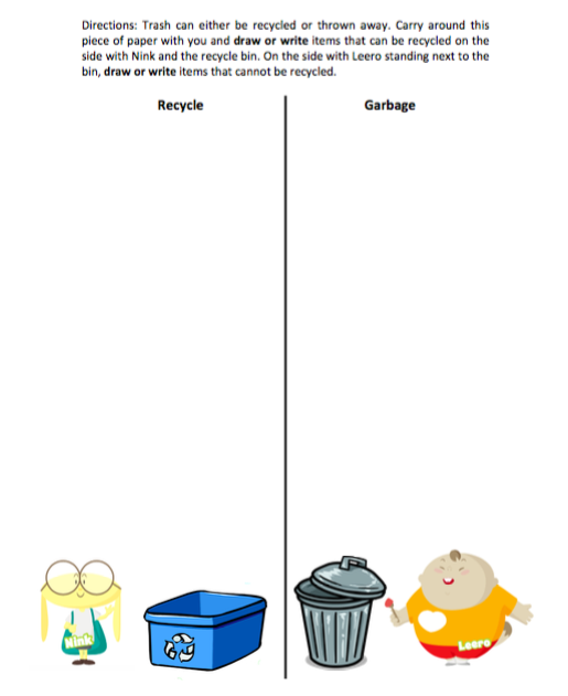 Mini Lesson Plan Reduce Reuse Recycle Littlelives
