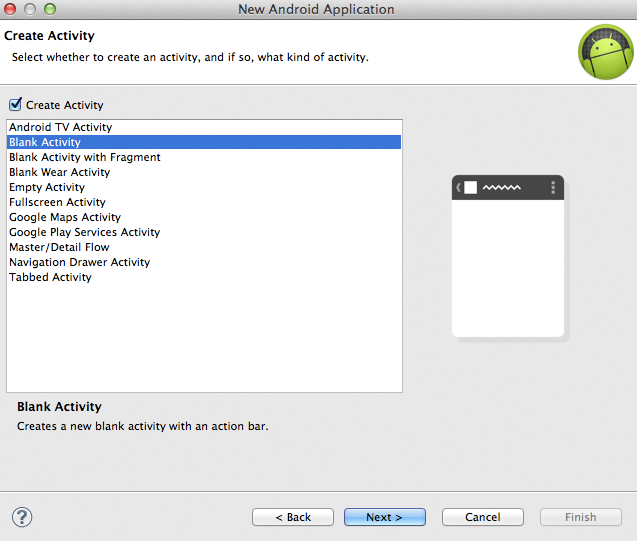 how to develop app using android studio
