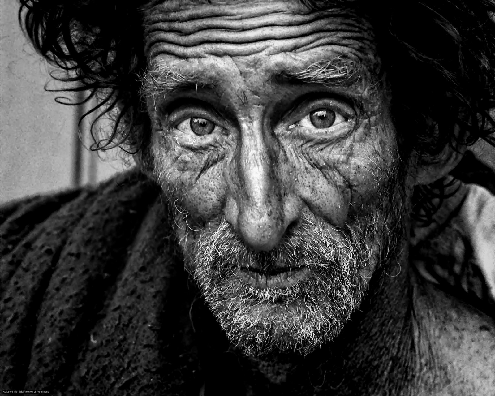 The story of a homeless man who changed his life