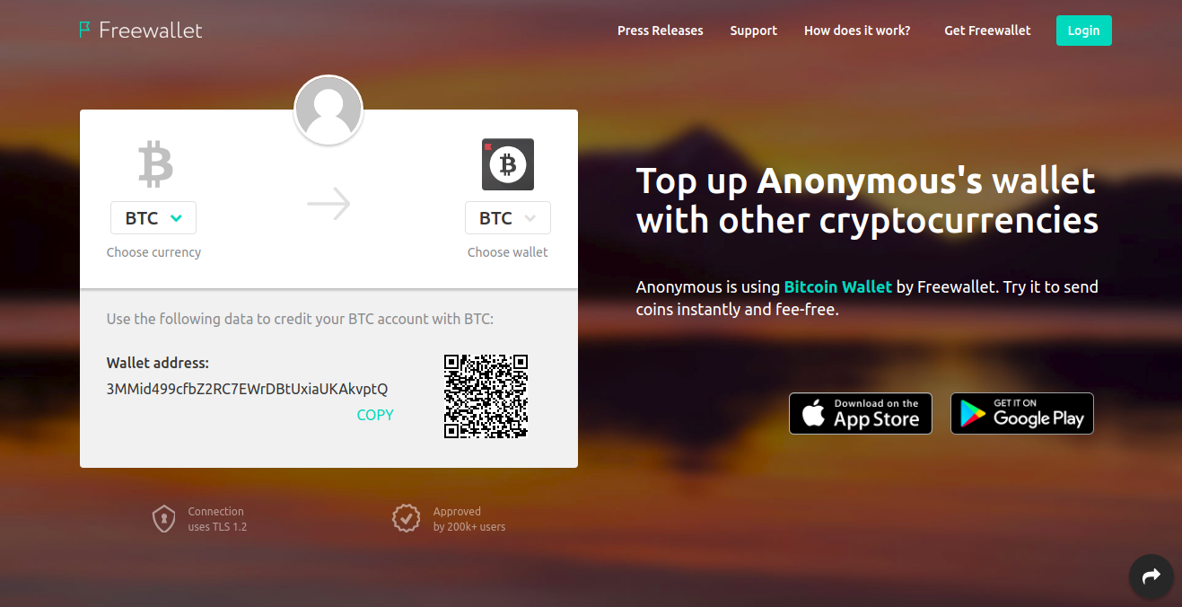 Freewallet response to nem blog post freewallet medium this very page gives your public btc address as 3mmid499cfbz2rc7ewrdbtuxiaukakvptq thats your current address with segwit support you can generate any ccuart Choice Image