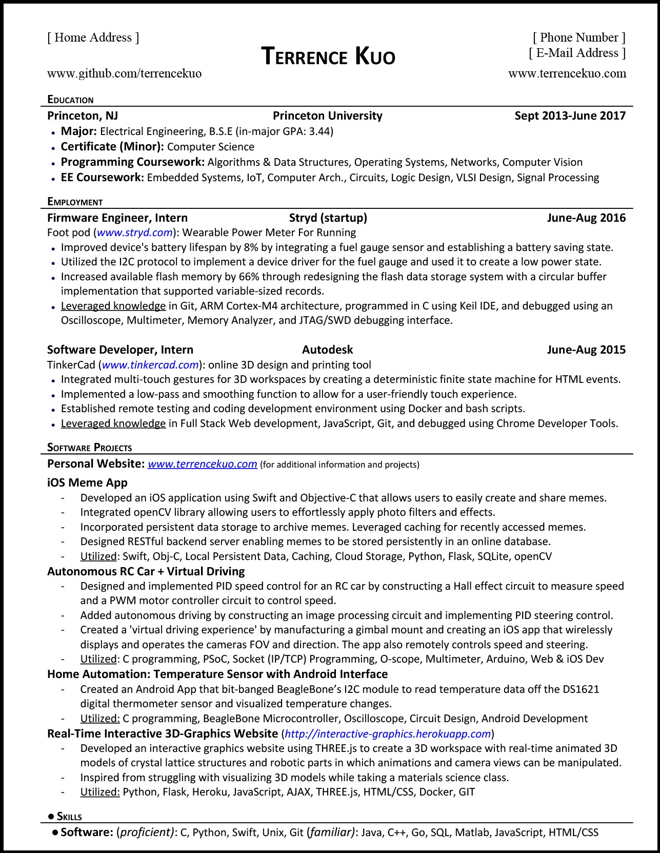 How To Write A Killer Software Engineering Resume FreeCodeCamporg