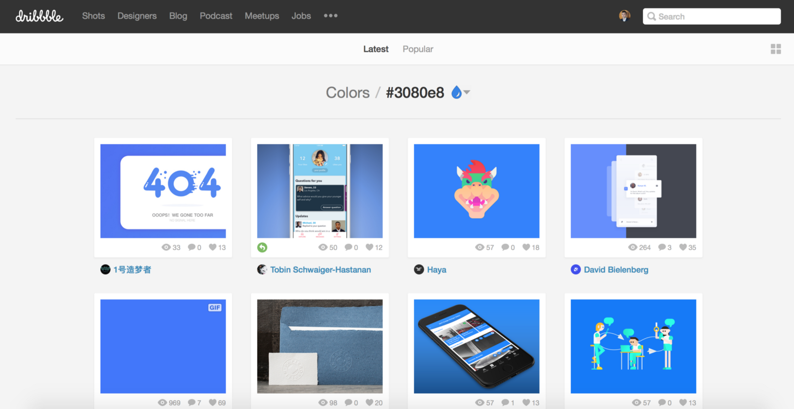 50 best free tools to create perfect color combinations - It Has Tool For Searching By Colors So When You Want To Do Visual Research On How Particular Color Was Used By Other Designers Go To Dribbble Com Colors