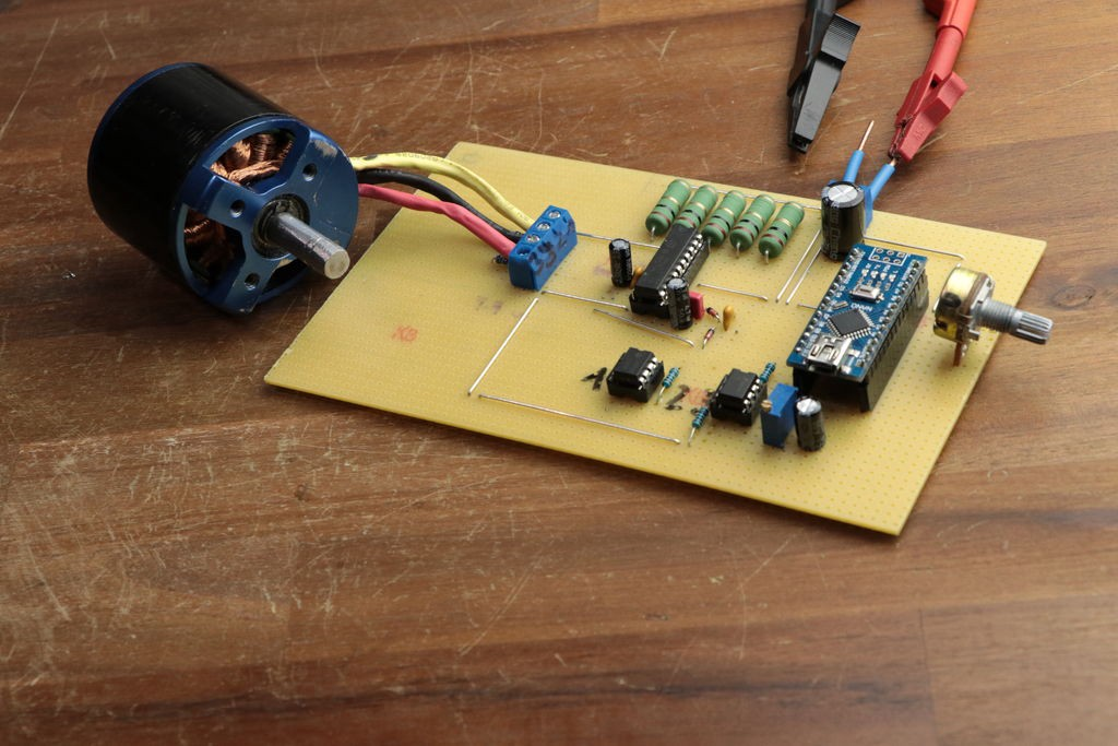 Build your own esc for bldc motors hackster blog for How to make a brushless dc motor