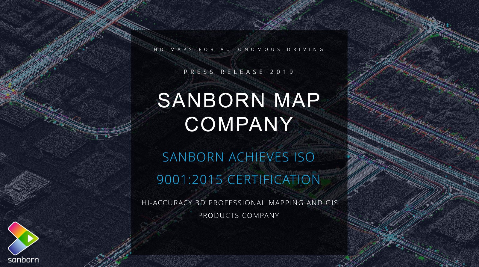 SANBORN ACHIEVES ISO 9001:2015 CERTIFICATION – Sanborn Map Company on