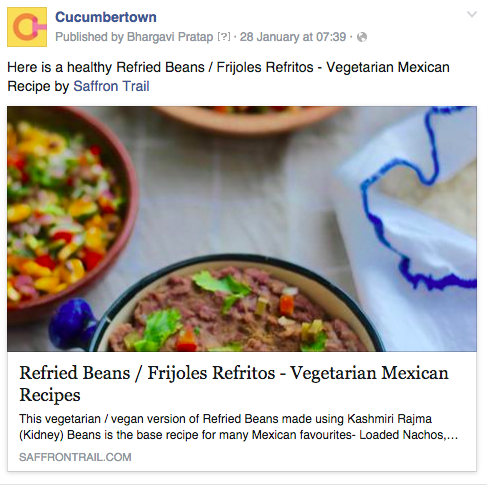 6 reasons why a food blog needs to have a facebook page when your post is being shared on a page facebook allows one to tag only the page not a profile by having a facebook page you are giving them an option forumfinder Image collections