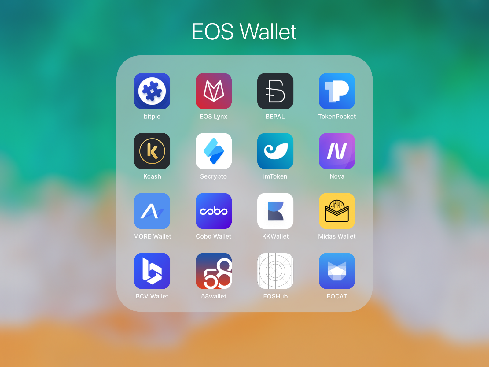 The Almost Best Collection Of Apps And >> I Finally Found The Best Wallet For Eos After Experienced Almost All