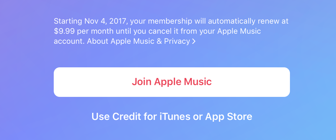 Use Credit for iTunes or App Store
