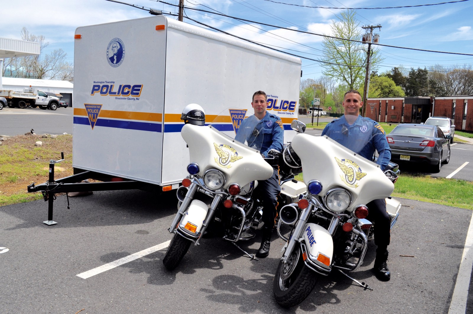 Two washington township police officers receive motorcycle two washington township police officers receive motorcycle certification xflitez Gallery