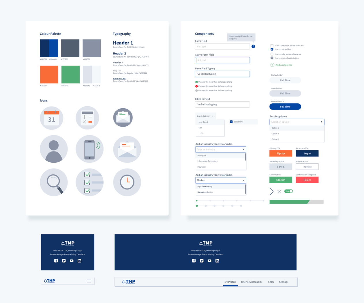 case study ux optimisation for talentmarketplace prototypr in addition we created a few custom icons to better illustrate some key concepts on the home page
