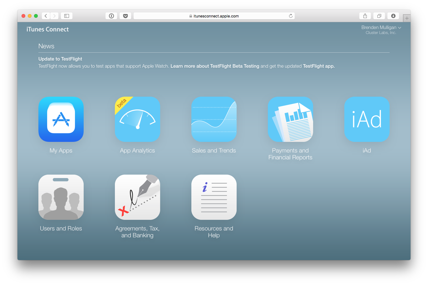 How to Set Up a Read-Only iTunes Connect User – LaunchKit ...
