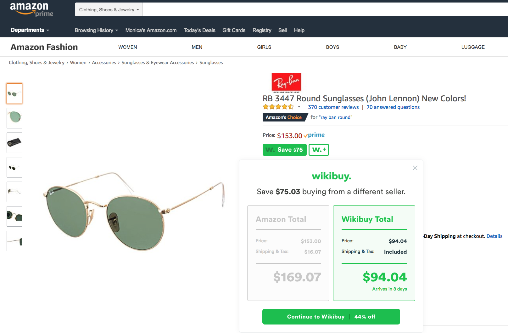 Heres the best way to shop at asos wikibuy wikibuy automatically checks other sellers for a better price including sales tax shipping a notification will appear in seconds if a better offer is fandeluxe Choice Image