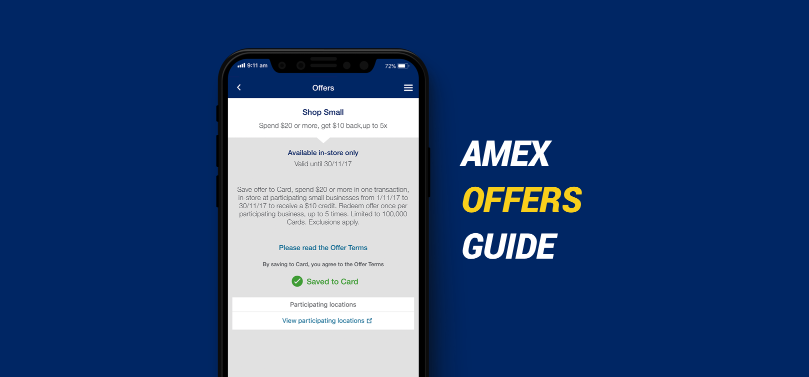 Save This Christmas With AMEX Offers – AusTraveller – Medium