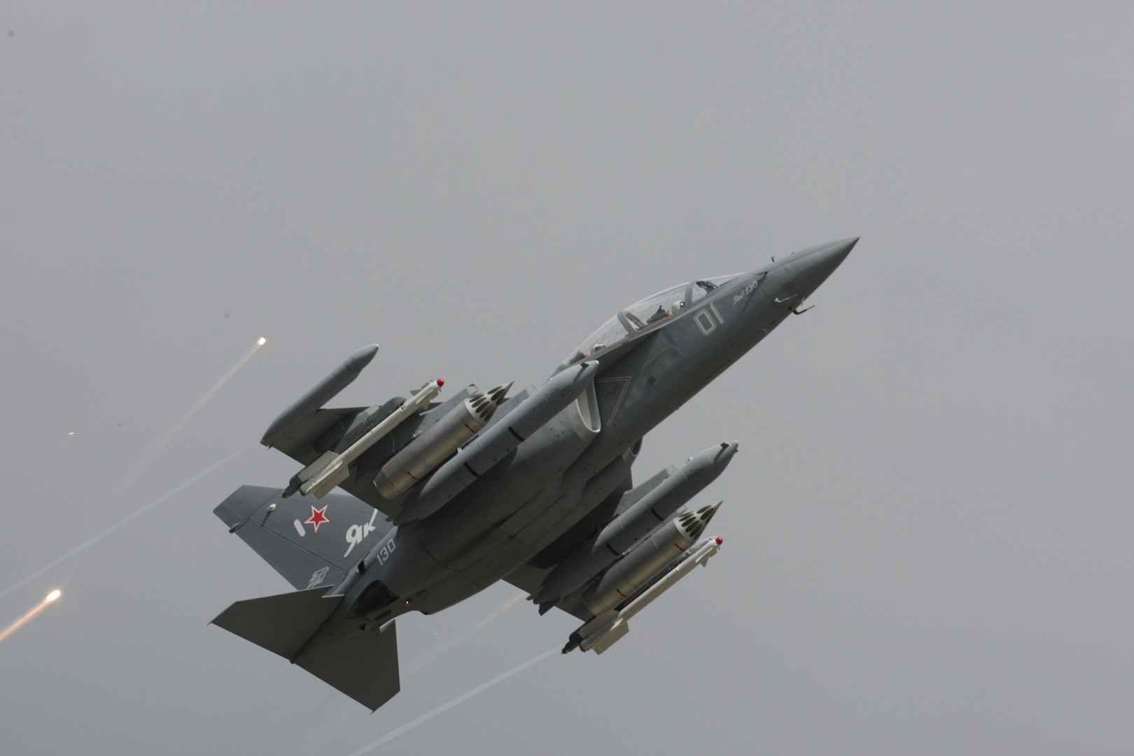 Myanmar received the first three Yak-130 aircraft under the contract in 2015