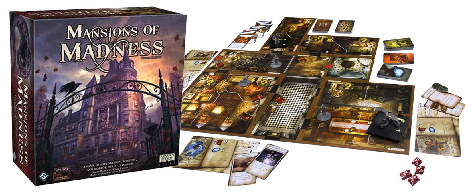 Think Mansions Of Madness Nd Edition Is Good It Could Have Been So - Mansion design games