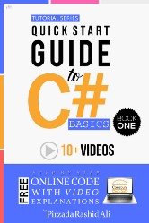 """""""Quick Start Guide to C# Basics"""" will teach you all about C# programming and provide you with enough knowledge to start coding immediately."""
